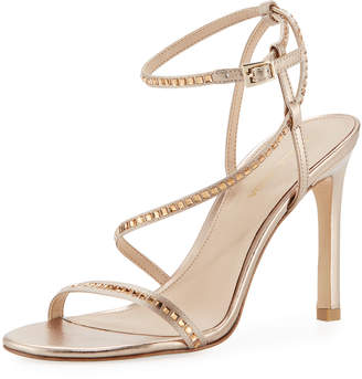 Pelle Moda Angler Strappy Satin Evening Sandal