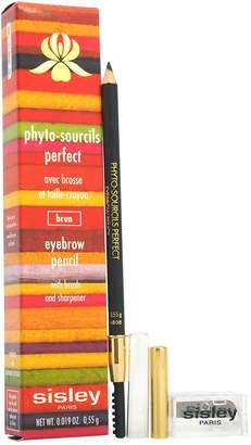 Sisley Phyto Sourcils Brun Perfect 0.05Oz Eyebrow Pencil, Brush & Sharpener