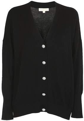 Michael Kors Button Embellished Cardigan