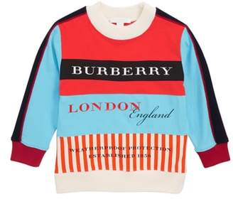 Burberry Print Paneled Pullover