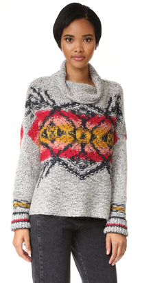 Free People Arctic Blast Pullover $198 thestylecure.com