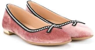Aquazzura Mini bow ballerina shoes