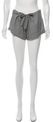Steven Alan Gingham Mini Shorts