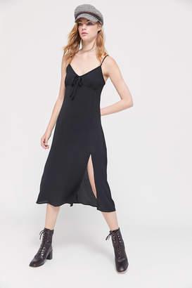 Urban Outfitters Rimini Tie-Front Midi Dress