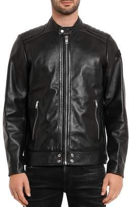 Diesel L-Shiro Leather Moto Jacket