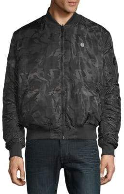 Cult of Individuality Reversible Camo Bomber Jacket