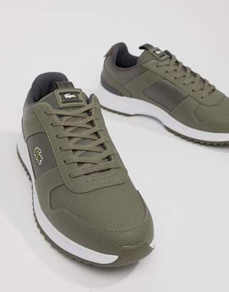 a372cd82cc3dd Lacoste Joggeur 2.0 318 1 runner trainers in khaki