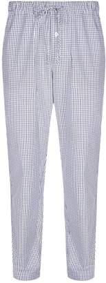 Hanro Woven Check Pyjama Bottoms