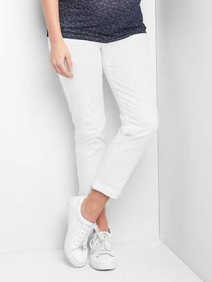 Gap Maternity inset panel best girlfriend jeans