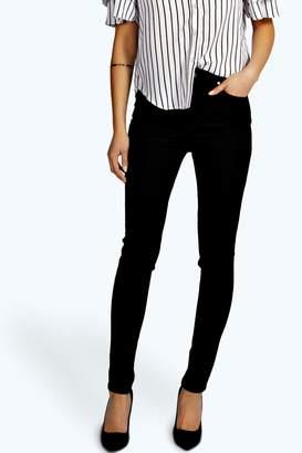 boohoo High Waisted Skinny Tube Jeans