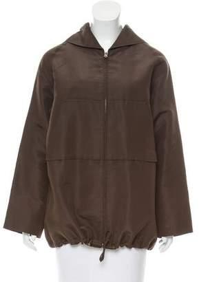 J. Mendel Lightweight Hooded Jacket