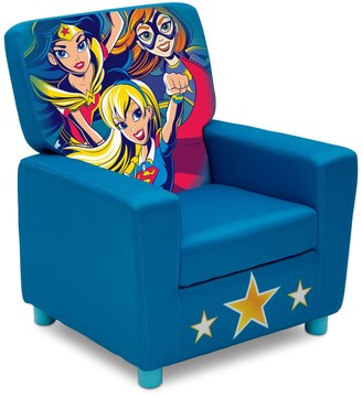Justice Delta Children DC Super Hero Girls High Back Upholstered Chair