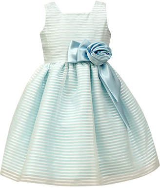 Jayne Copeland Organza Stripe Special Occasion Dress, Toddler & Little Girls (2T-6X) $74 thestylecure.com