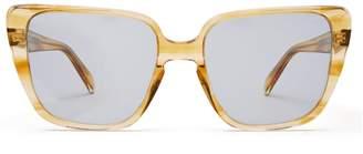 Celine Square cat-eye acetate sunglasses
