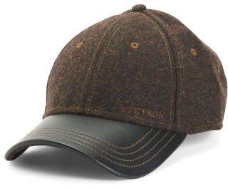 Woolblend Baseball Cap
