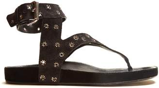 Isabel Marant Elwina embellished suede sandals