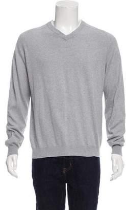 Maison Margiela Knit V-Neck Sweater