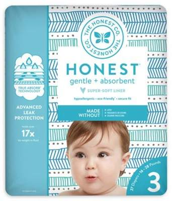 The Honest Company Honest 27-Pack Size 3 Diapers in Tribal Pattern