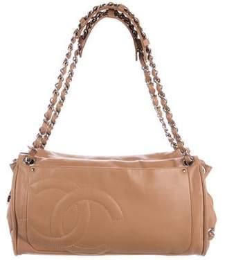 Chanel Diagonal Ligne Accordion Shoulder Bag