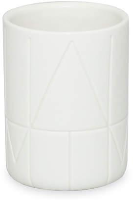 DKNY Geometrix Tumbler - White