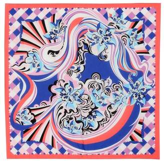Emilio Pucci Beach Printed cotton scarf