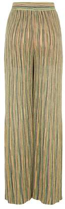 M Missoni Metallic Stripe Trousers