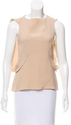 Ohne Titel Silk Sleeveless Top