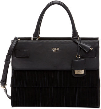 GUESS Cate Satchel $118 thestylecure.com