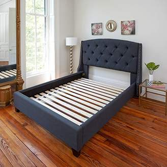 Classic Brands Heavy-Duty Solid Wood Bed Support Slats for Any Mattress Type | Bunkie Board Frame
