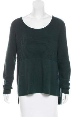 Helmut Lang Rib Knit Wool-Blend Sweater