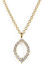 Bony Levy Simple Obsession Diamond Pendant Necklace
