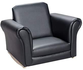 Gift Mark 6725BK Upholstered Rocking Chair