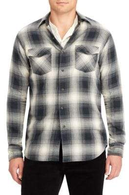 Ralph Lauren Rancher Cotton Flannel Shirt
