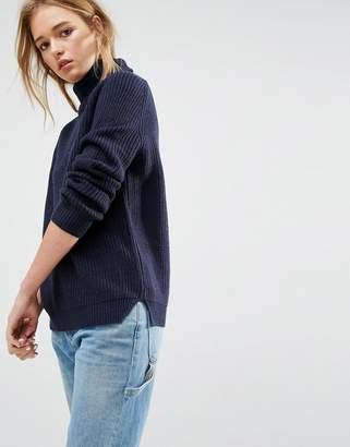 Asos Ultimate Chunky Jumper With Roll Neck