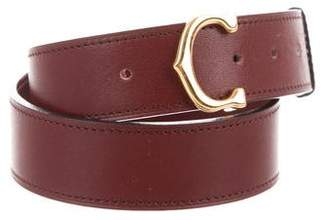 Cartier Vintage Leather Belt