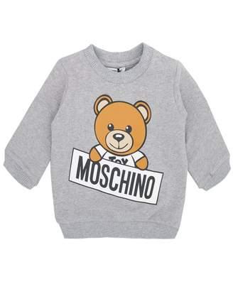 Moschino Unisex Toy Bear Logo Sweat