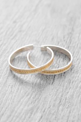 Anna Beck Large Bali Gold Hoop Earrings