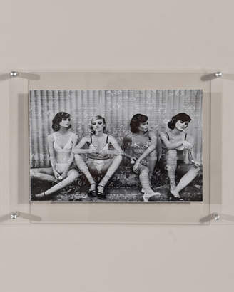 "RFA Fine Art ""Bubbles Models"" Print Photography Art in Plexi Frame"