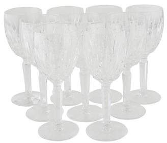 Waterford Set of 9 Kildare Claret Wine Glasses