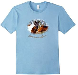 Paint Horse T-shirt - Love one another