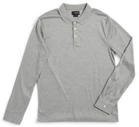 Black & Brown Black Brown Polo Collar Cotton Top