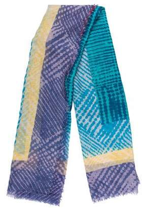 Marc by Marc Jacobs Print Knit Scarf