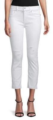 Vigoss Frayed Cropped Jeans