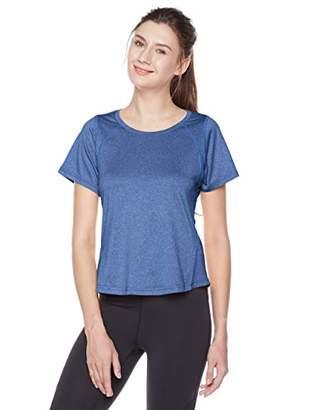 7Goals Women's Round Neck Short Sleeve Workout T-Shirt