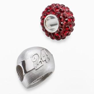 "Insignia Collection NASCAR Jeff Gordon Sterling Silver ""24"" Helmet Bead Set"