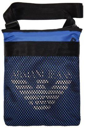 New Mens Blue Mesh Polyamide Cross Body Bag Crossbody Bags