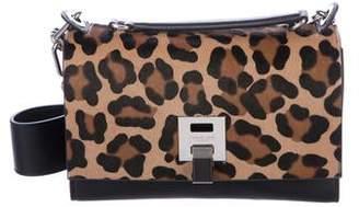 Michael Kors Leather & Ponyhair Bancroft Bag