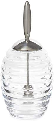 Alessi Ribbed Honey Pot