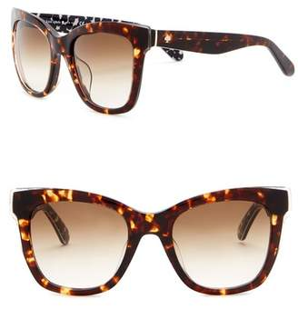 4278daa5c9 at Nordstrom Rack · Kate Spade Emmy 51mm Square Cat Eye Sunglasses
