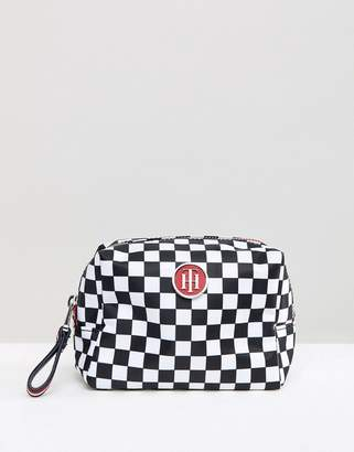 Tommy Hilfiger Checkerboard Make Up Case